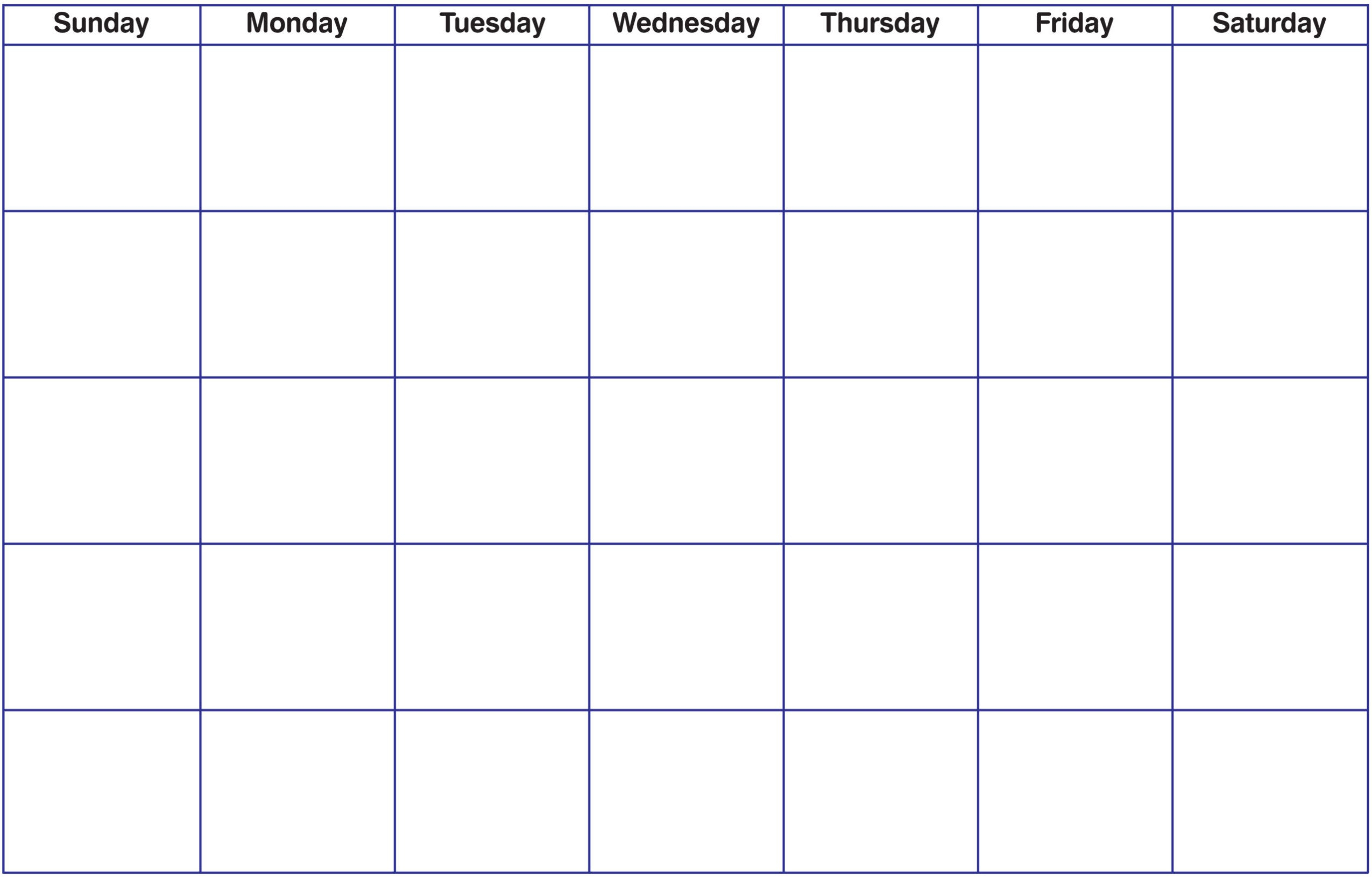010 Template Ideas Printable Blank Calendar Pdf Unusual Monthly