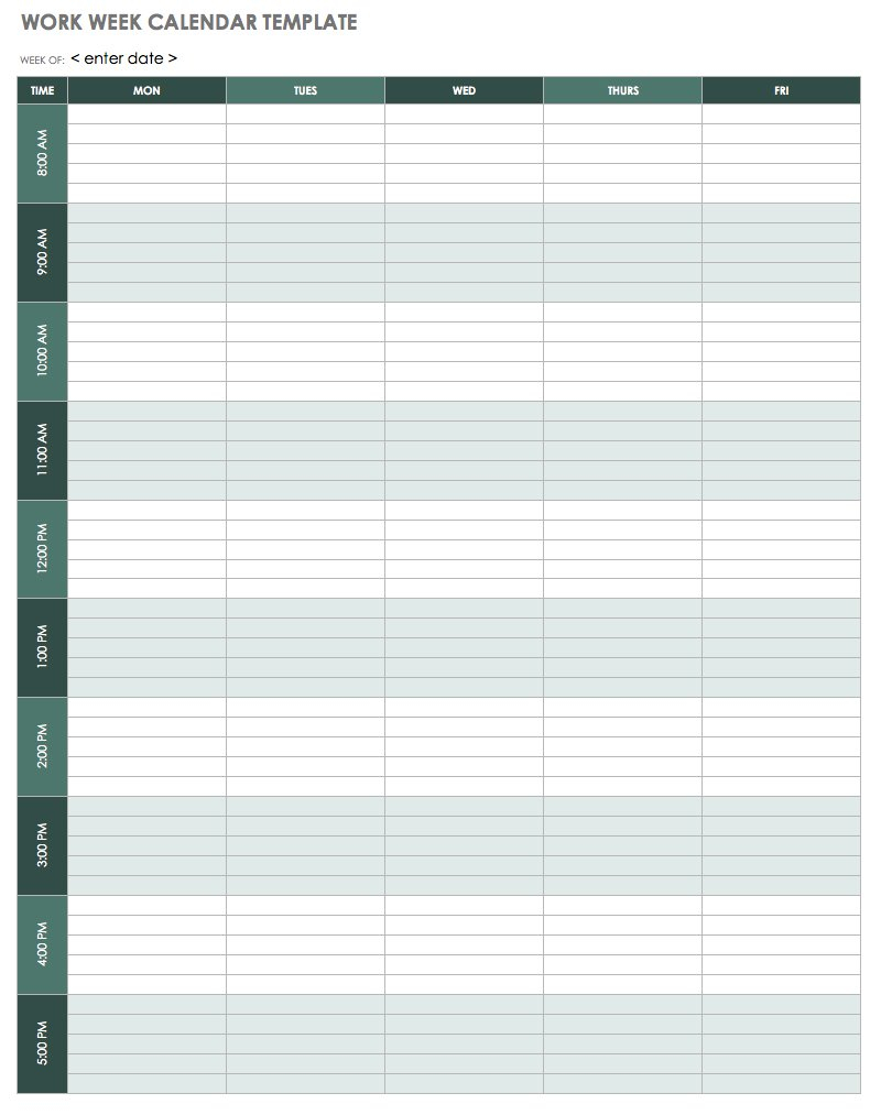 graphic about Weekly Blank Calendar named 6 7 days Blank Calendar Printable Calendar Printable Totally free
