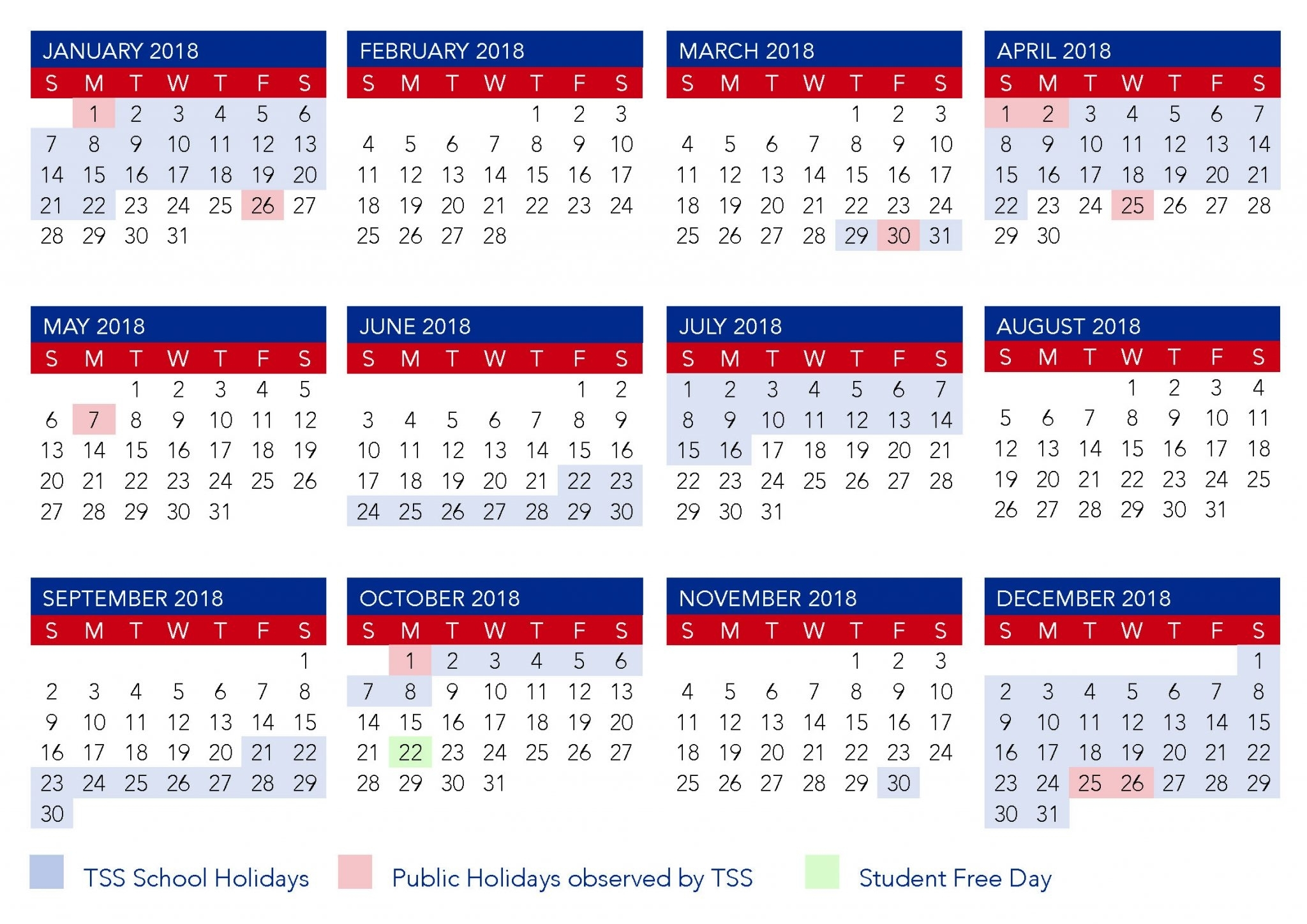 2020 Calendar Australia With School Holidays