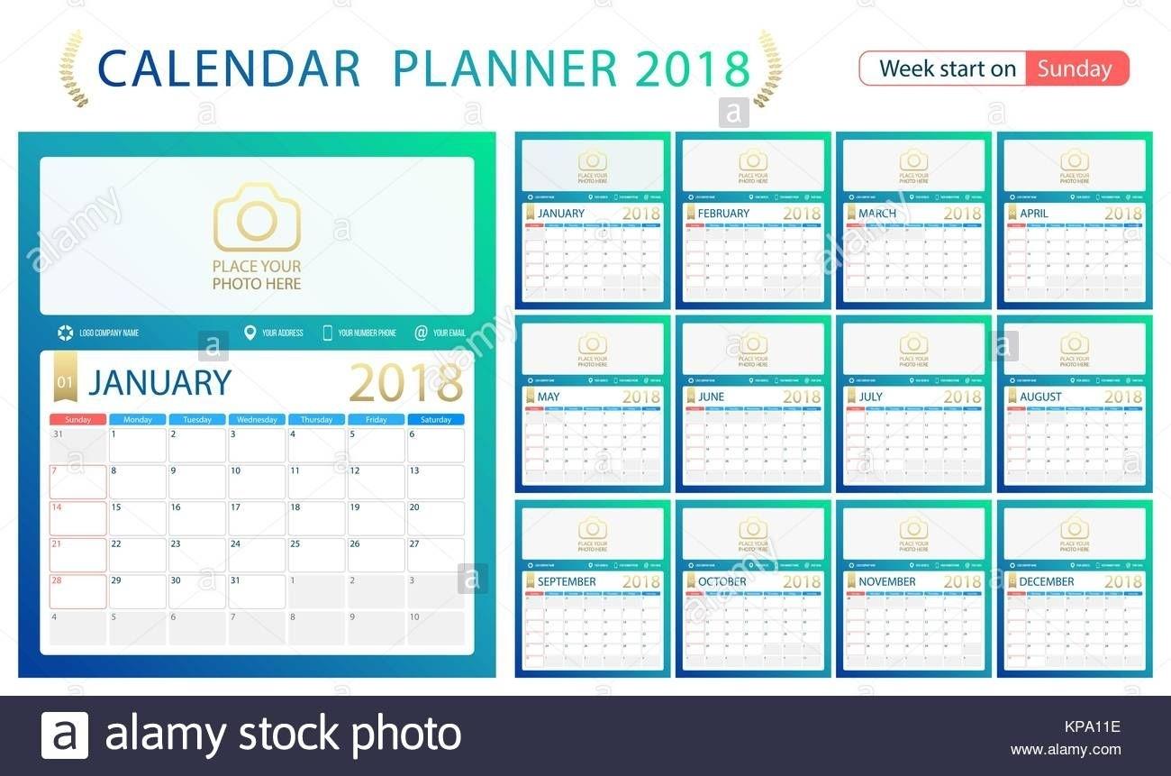 2020 Calendar Indesign Template – Get Your Calendar Printable