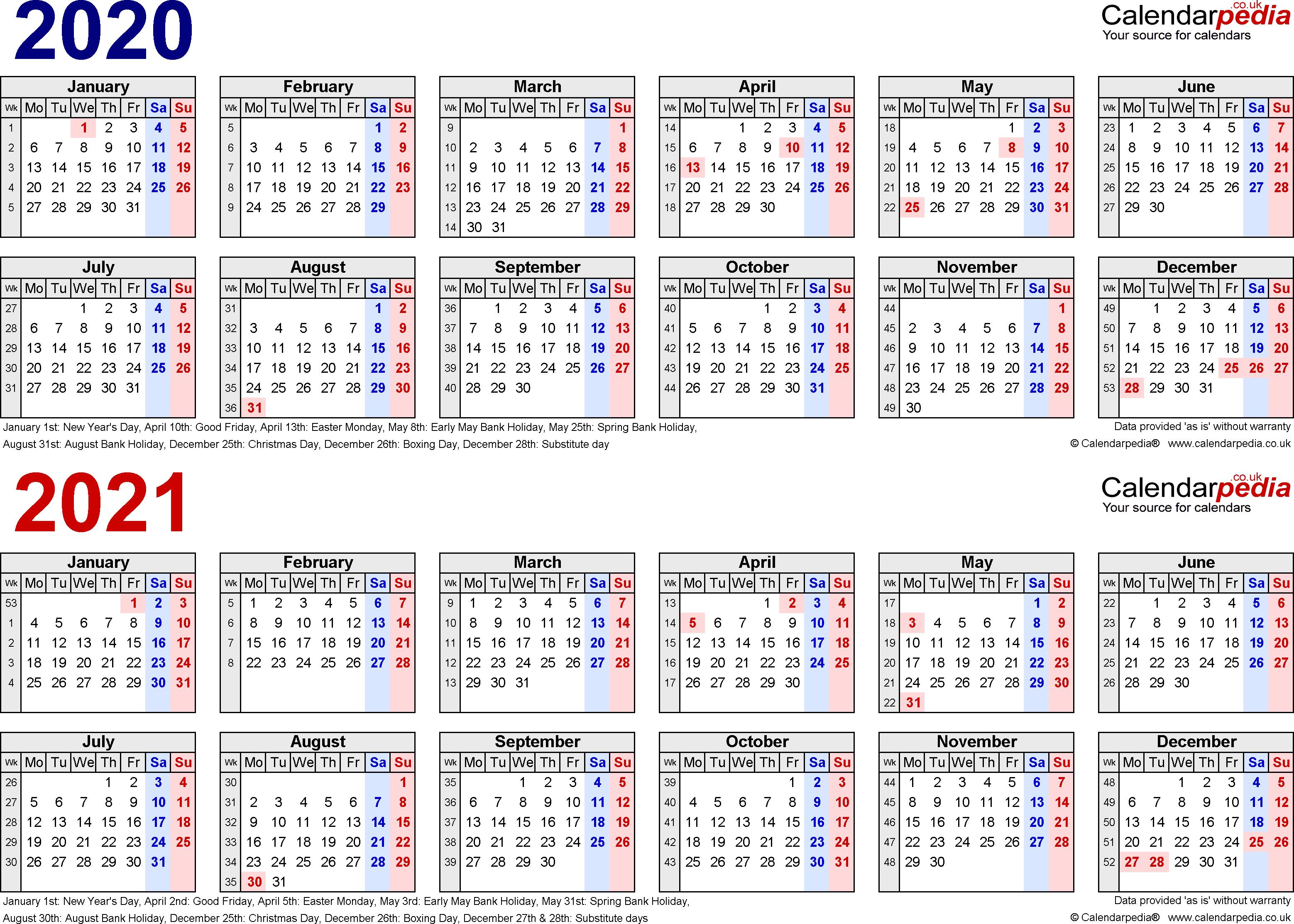 2020 Calendar Matches What Year