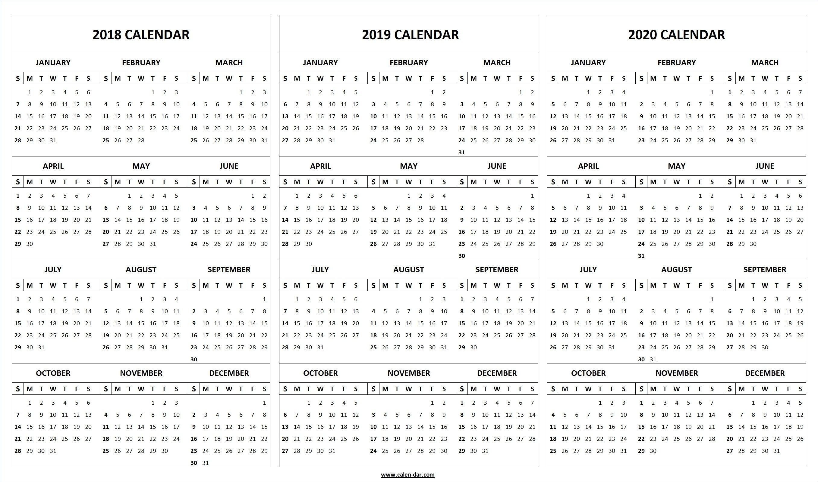 2020 Calendar Nz