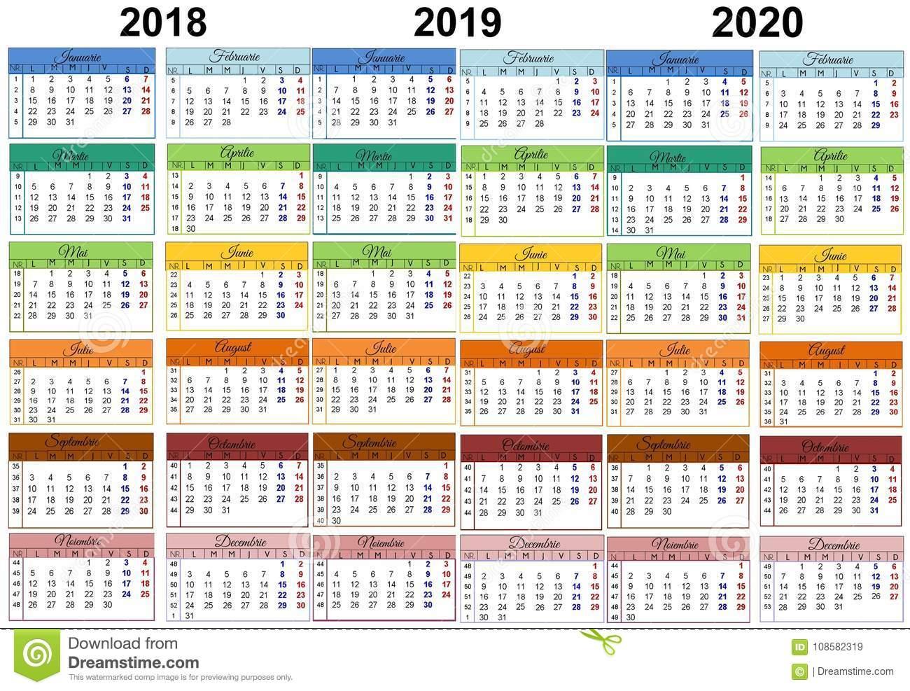 2020 Calendar Ramadan