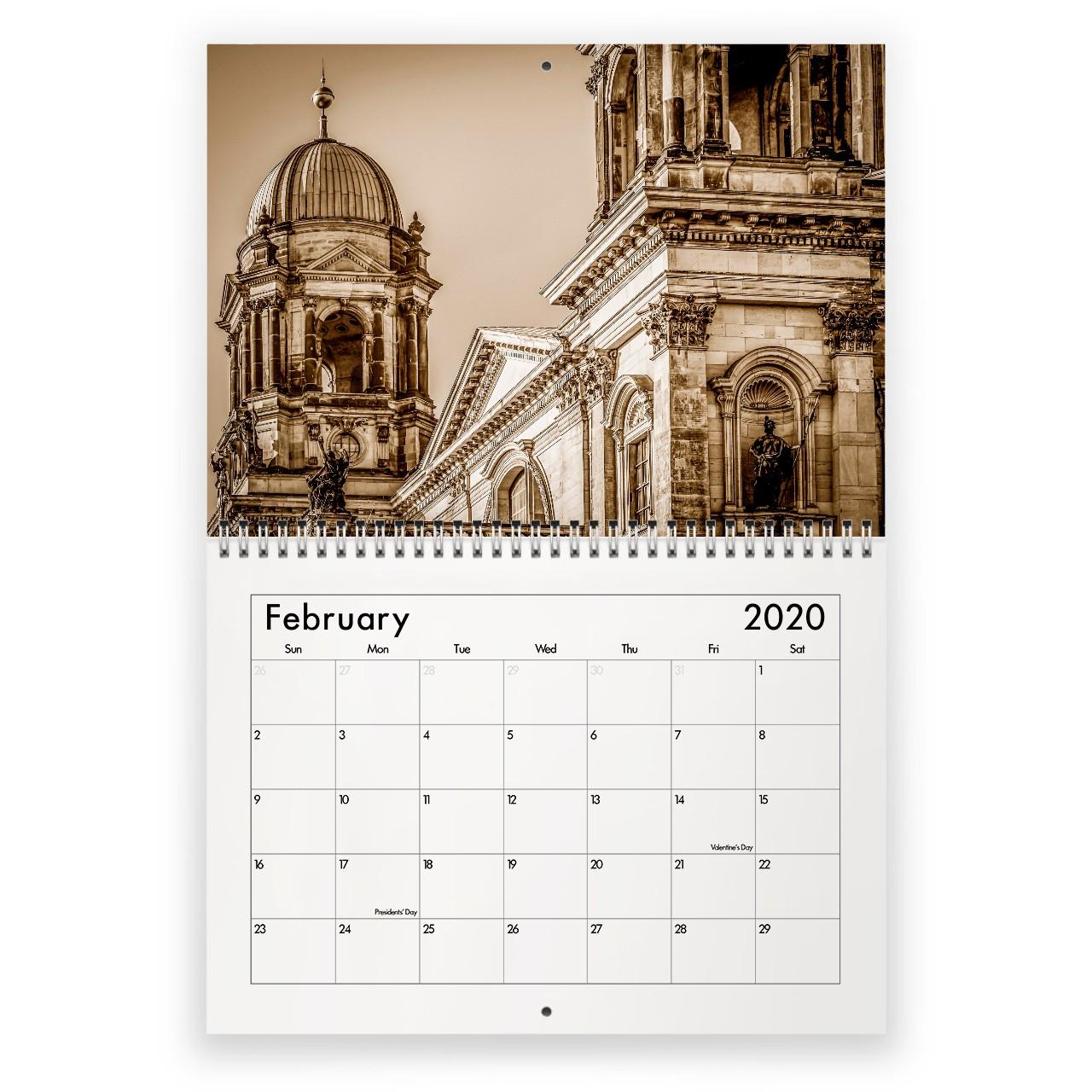 2020 Church Calendar