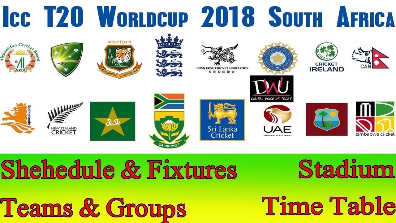 2020 Cricket Calendar