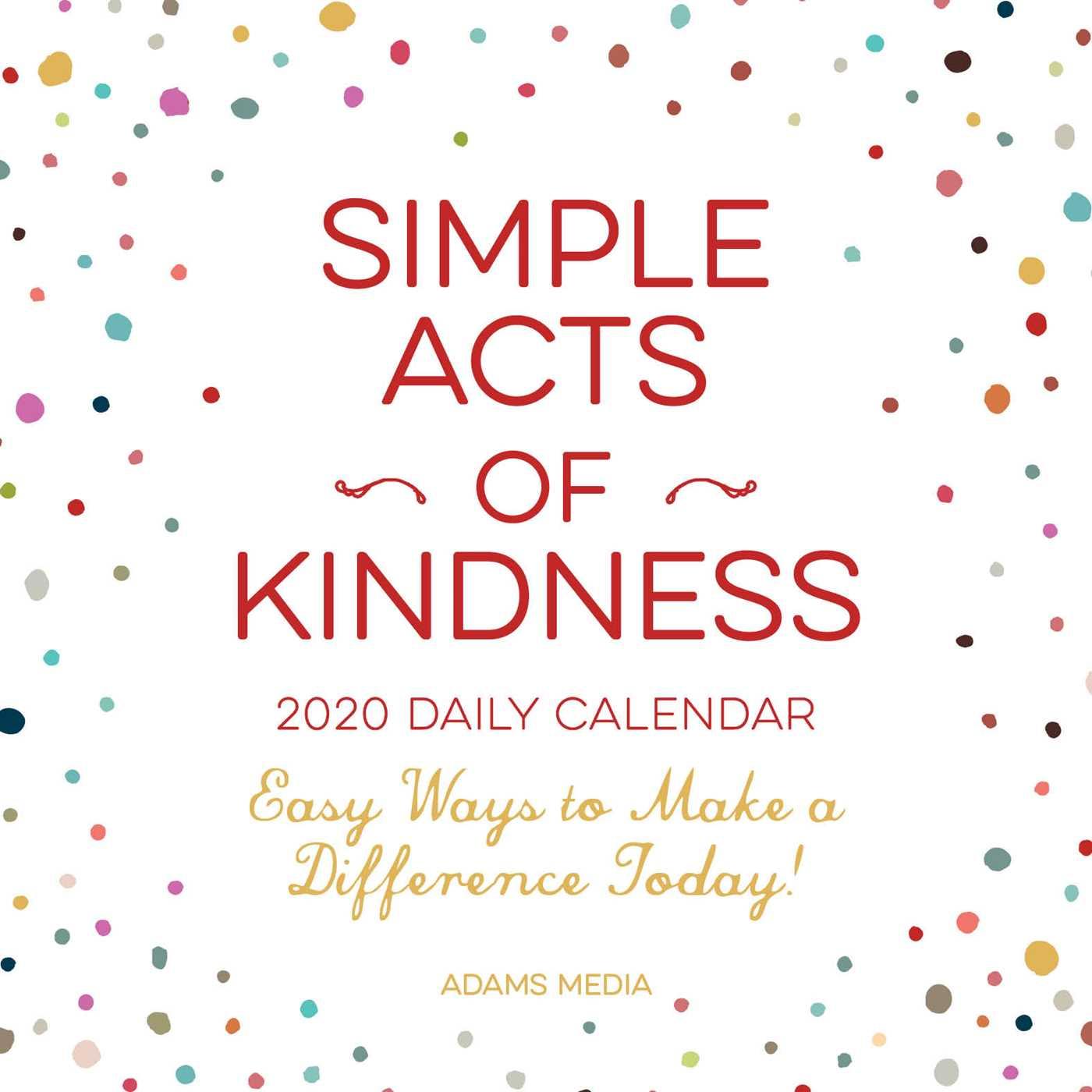 2020 Daily Calendar