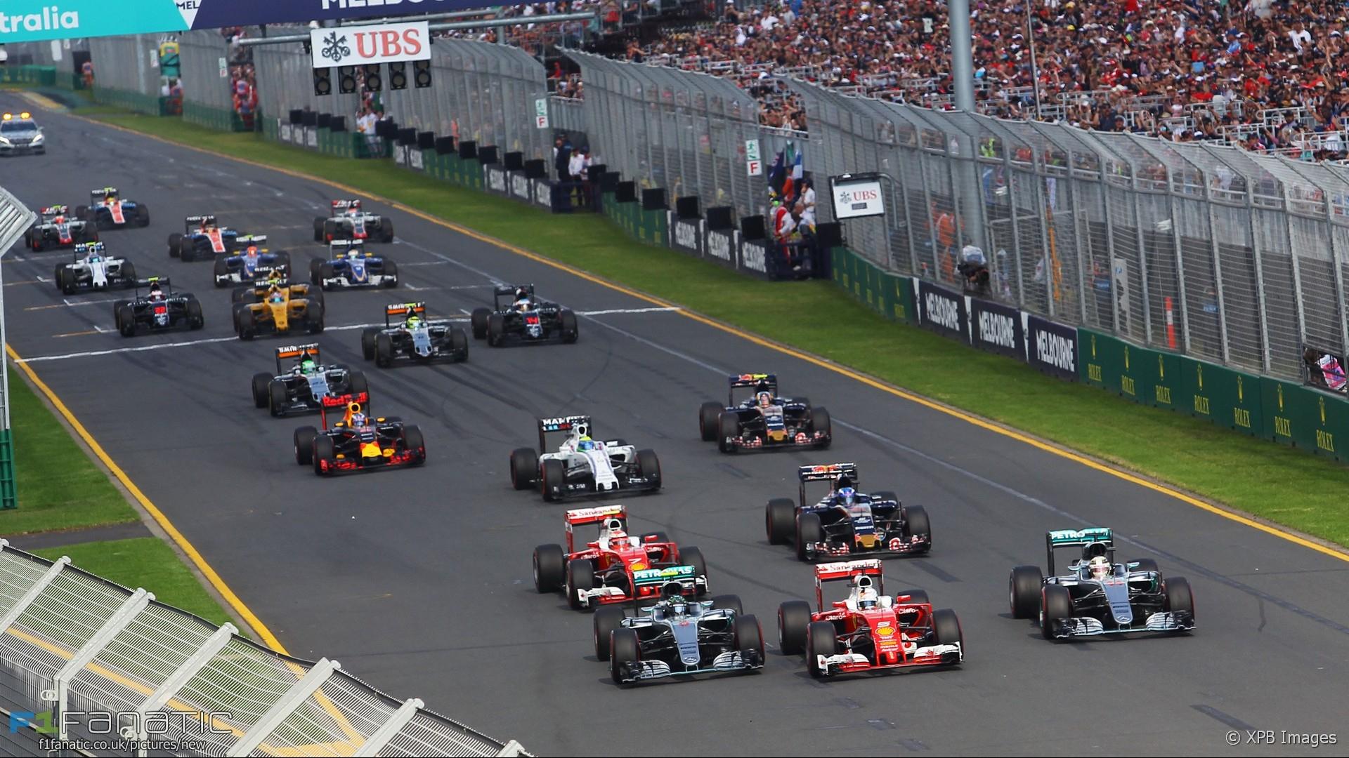 2020 Formula 1 Calendar