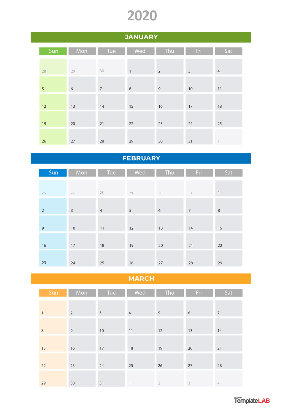 [%2020 Printable Calendars [Monthly, With Holidays, Yearly] ᐅ|Blank Calendar Quarterly|Blank Calendar Quarterly%]
