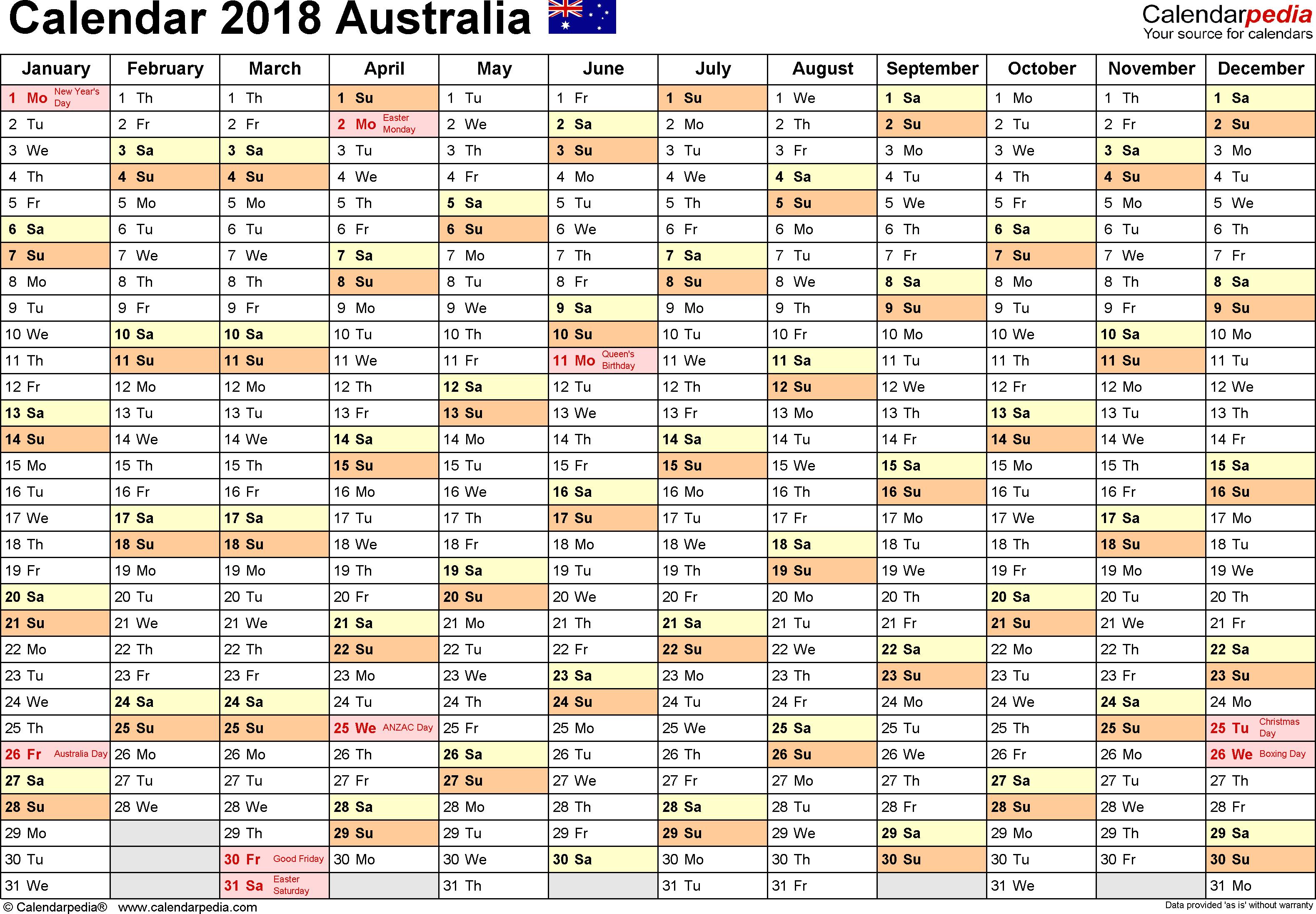 2020 Rdo Calendar