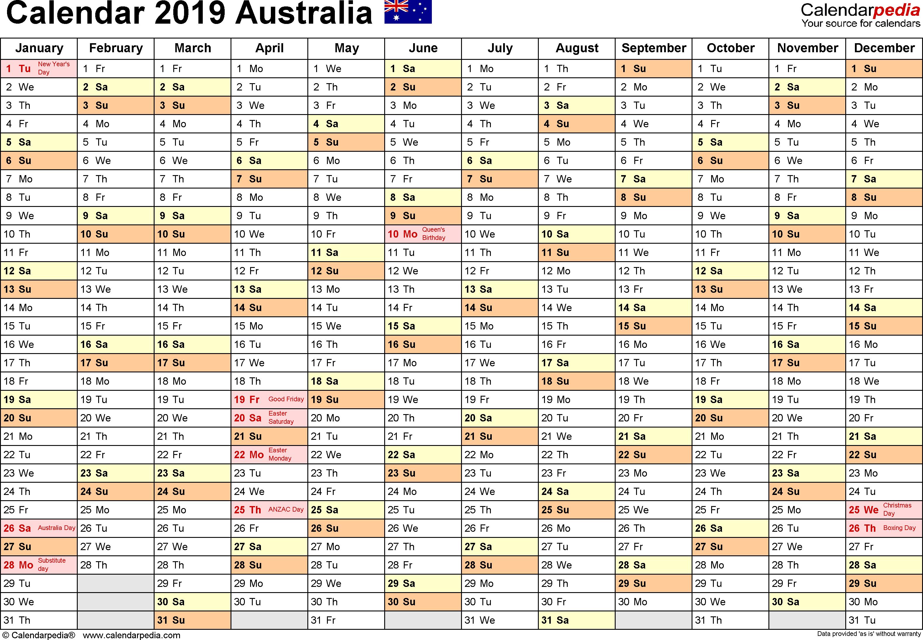 2020 School Calendar Queensland State Schools