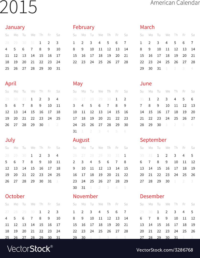 4 4 5 Calendar 2015 - Bgadv