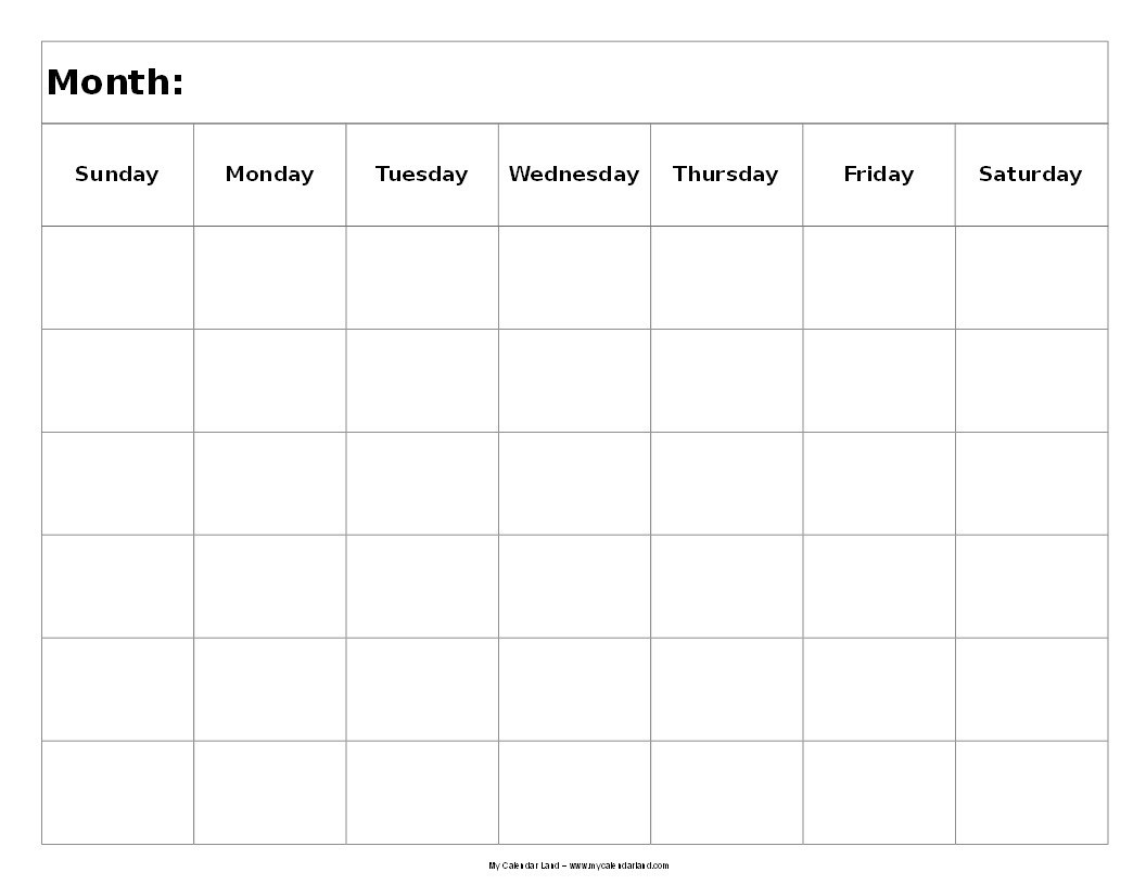 6 Week Calendar - Agadi.ifreezer.co