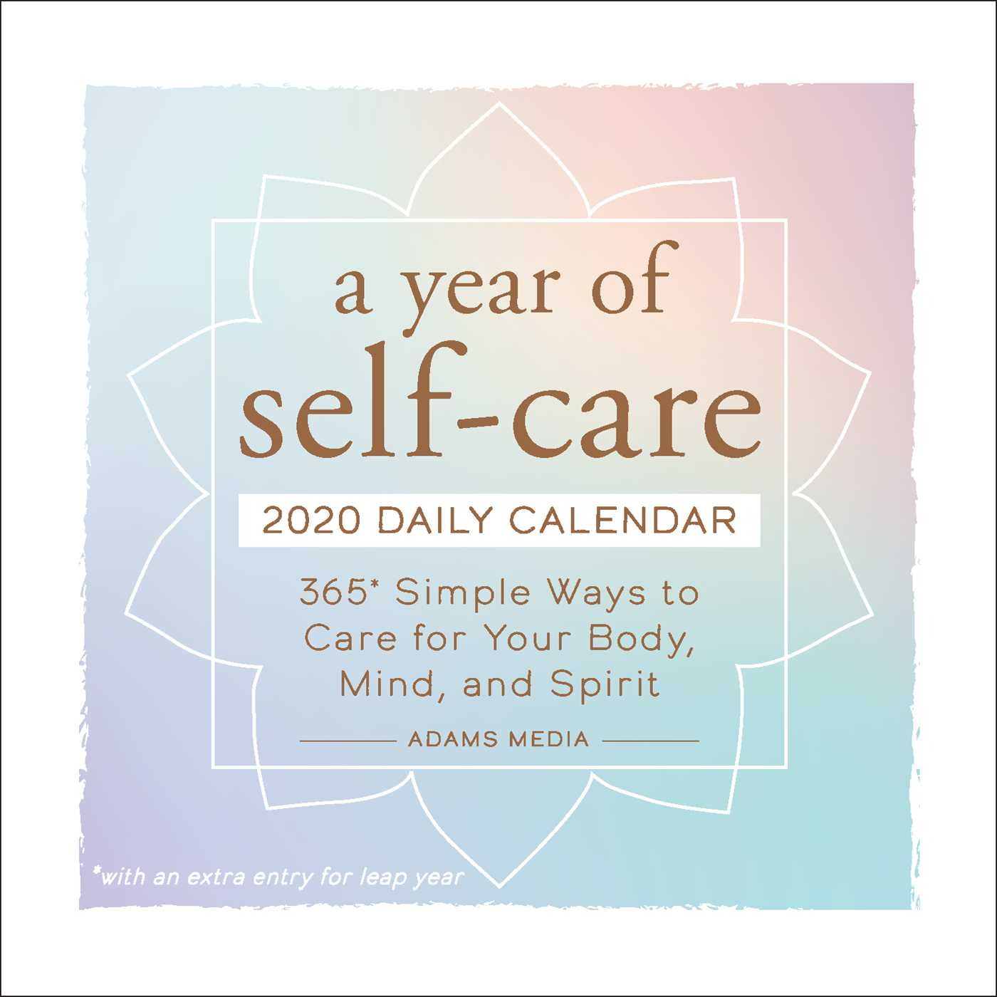 A Year Of Self-Care 2020 Daily Calendar - Book Summary & Video