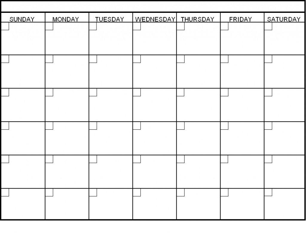 Blank 6 Week Calendar Oklmindsproutco Pictures Within 6 Week