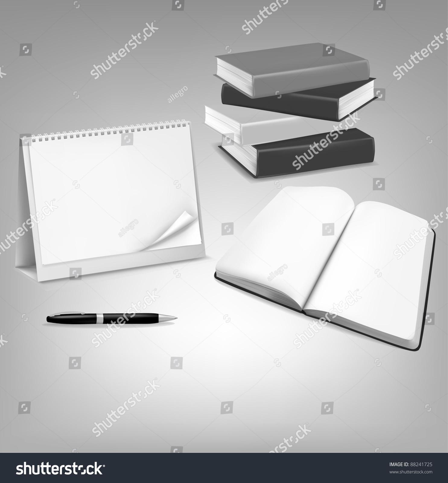 Blank Calendar Book