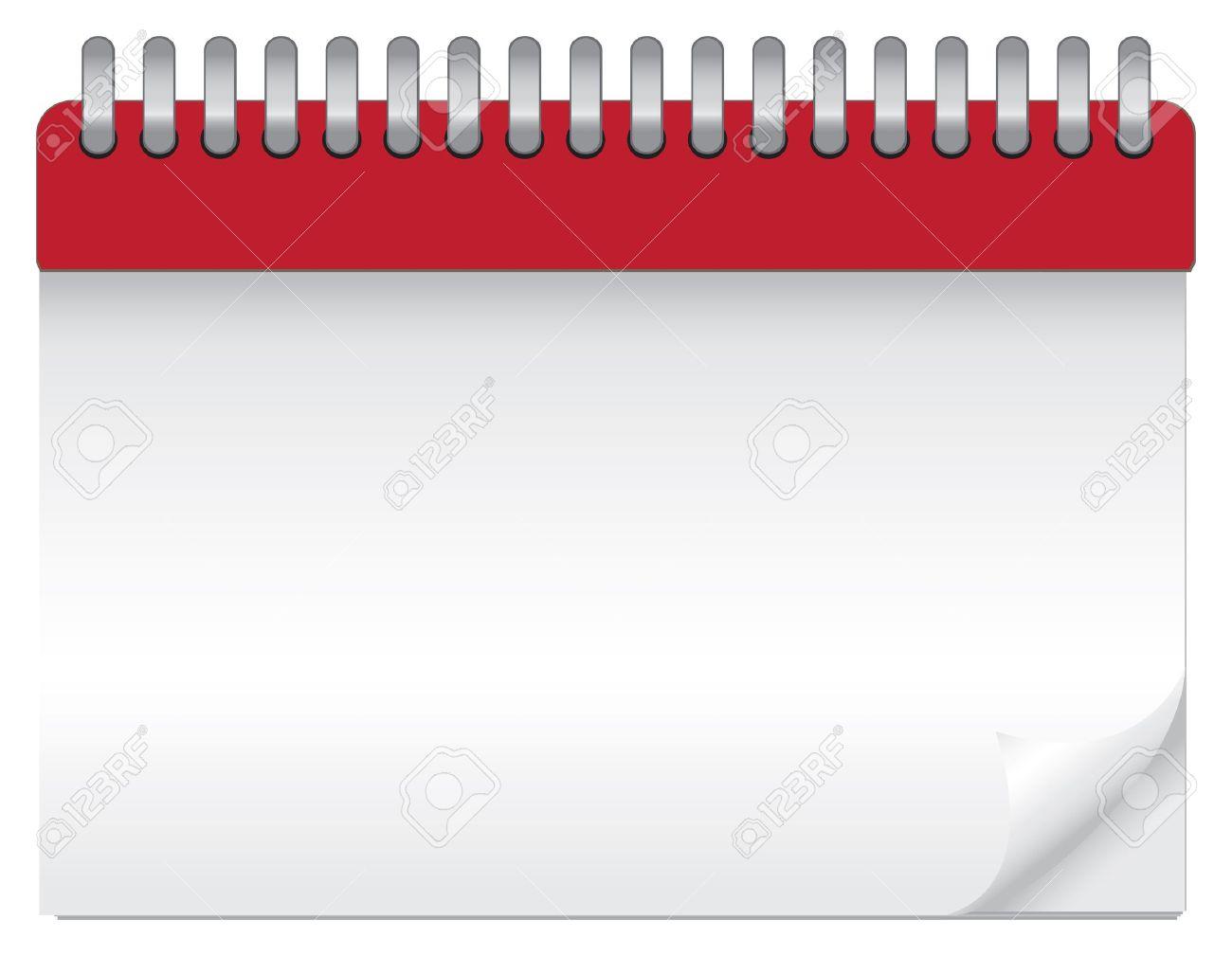 Blank Calendar Graphic