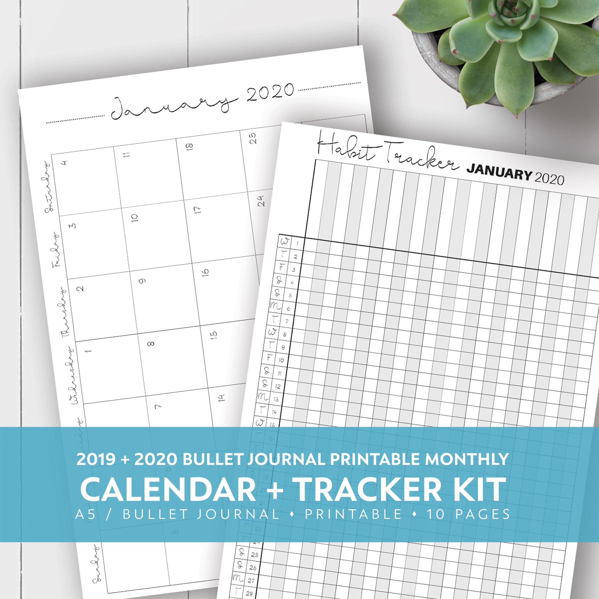 Blank Calendar Kit