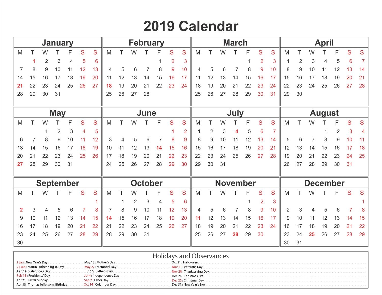 Blank Calendar Labs