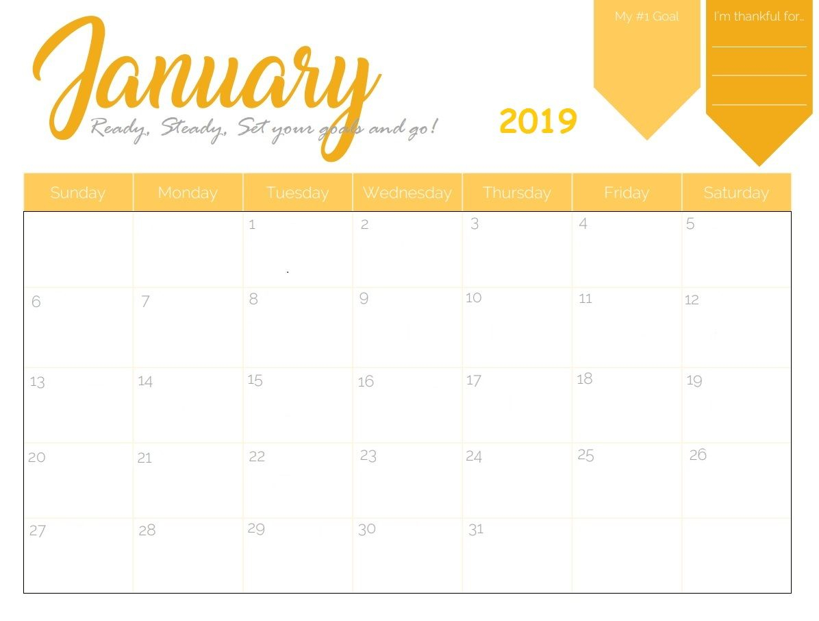 Blank Calendar Maker