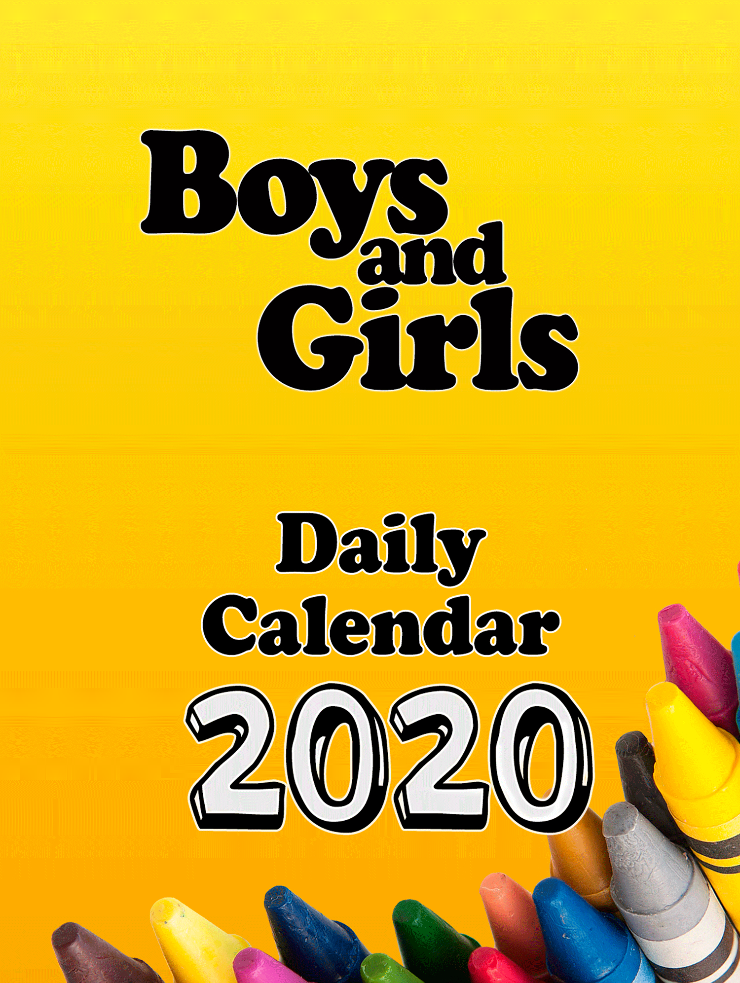 Boys And Girls Daily Calendar Block Only, Without Back, Christian