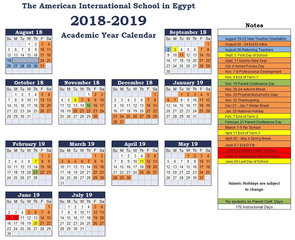 Calendar 2020 Egypt – Get Your Calendar Printable