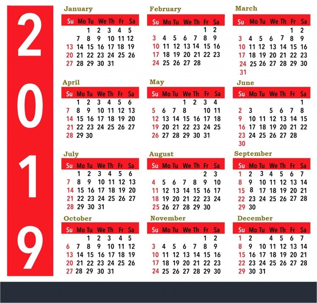 Calendar 2020 Zile Libere