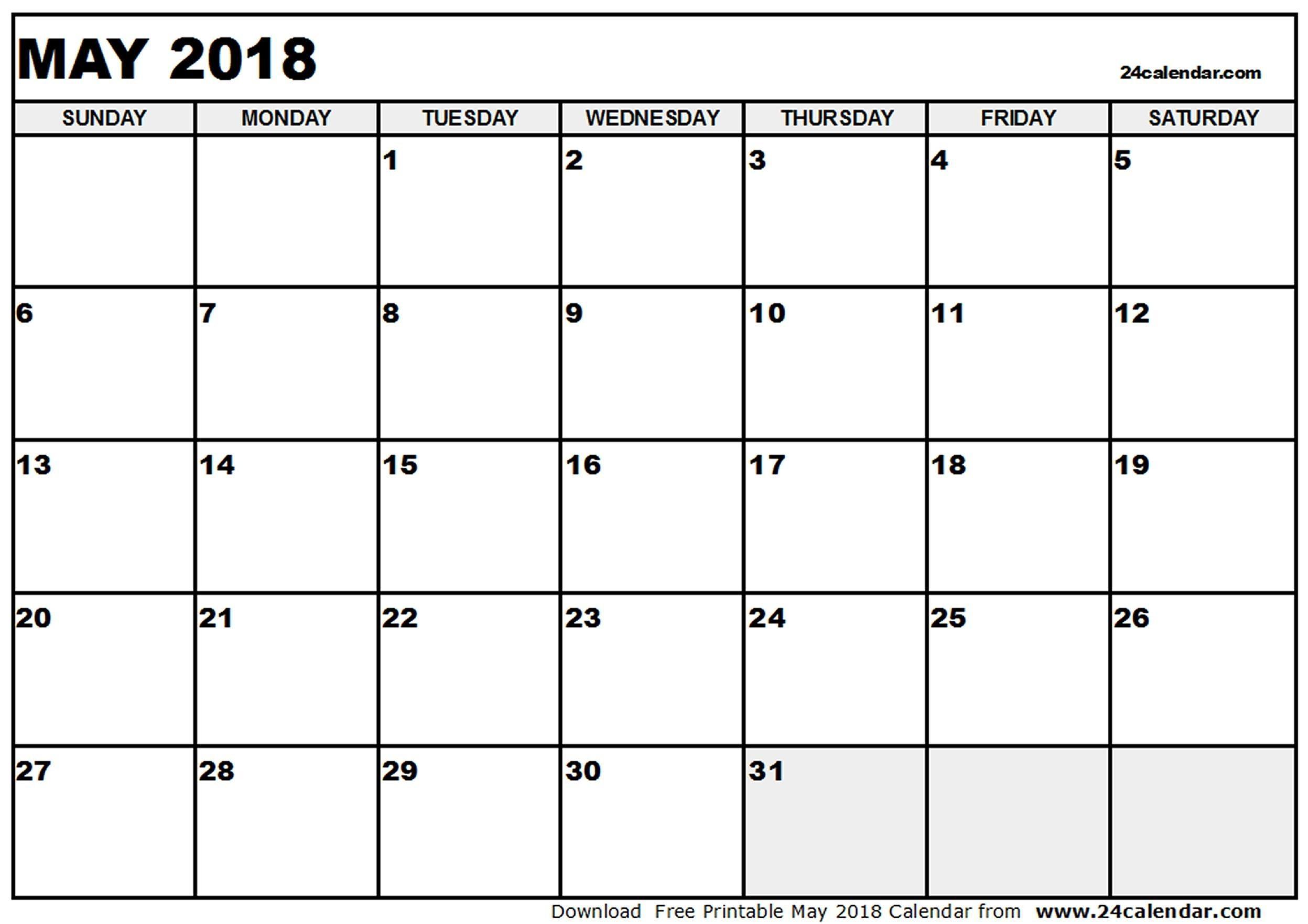 Calendar Blank Mac