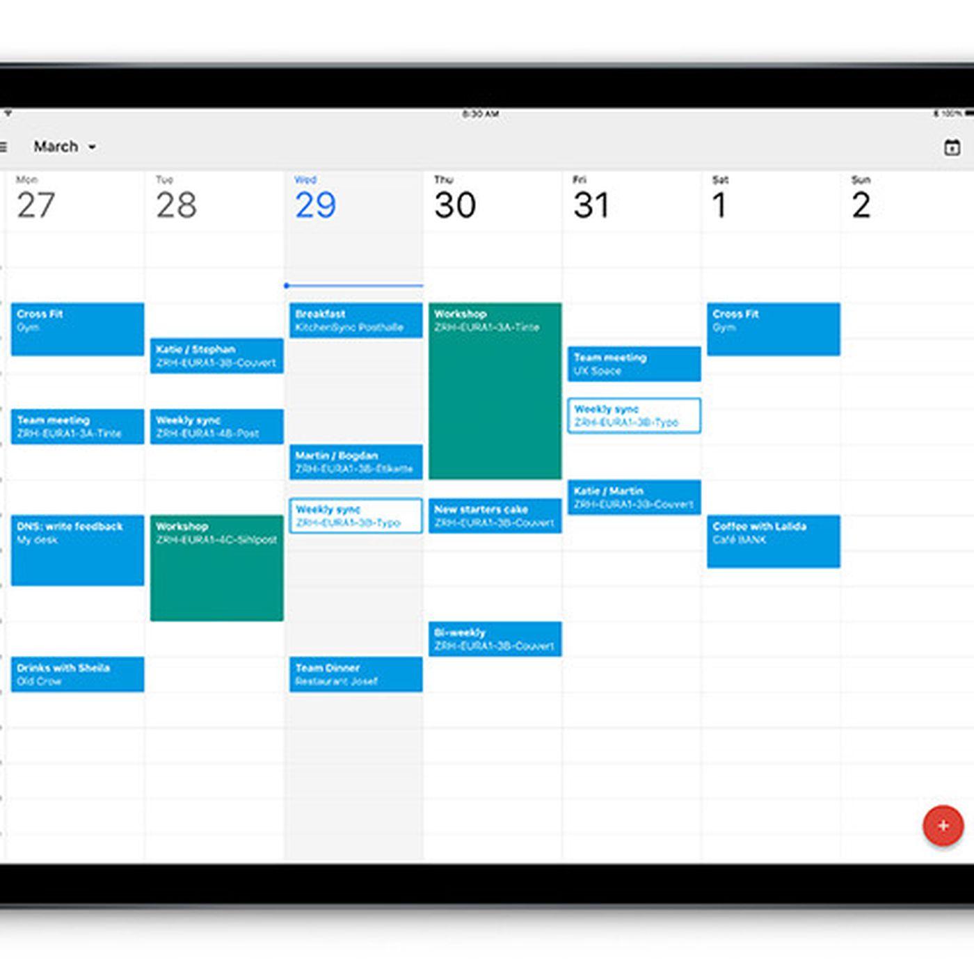 Calendar Blank On Ipad