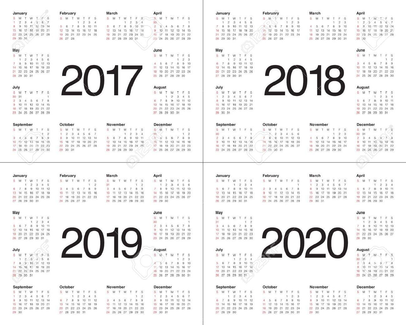 Calendar Printable 2019 Template