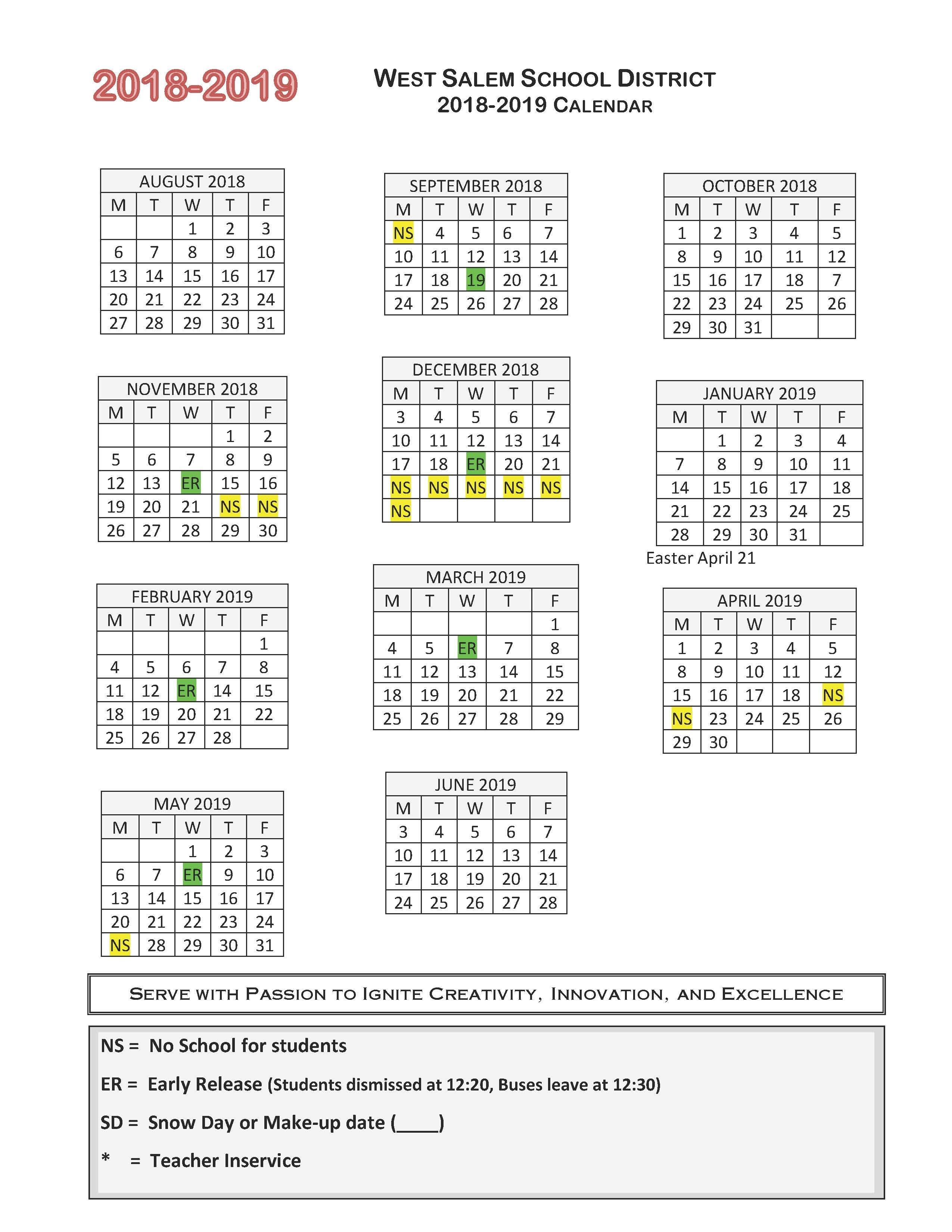Calendar Referendum 2020