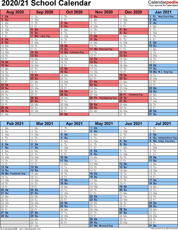 Ccsd 2020-21 Calendar