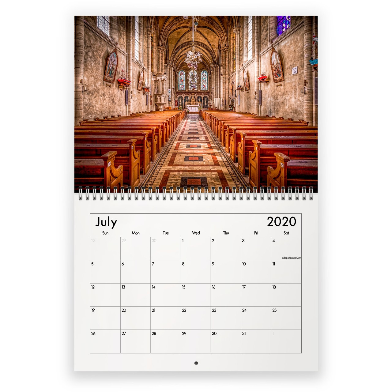Church 2020 Calendar