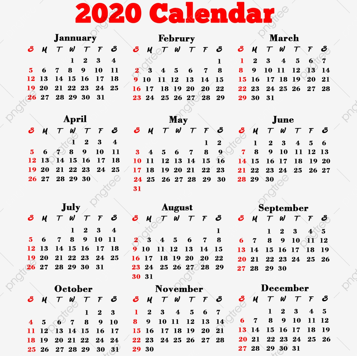 К 2020 Году Календарь Пнг К 2020 Году К 2020 Году Календарь К 2020