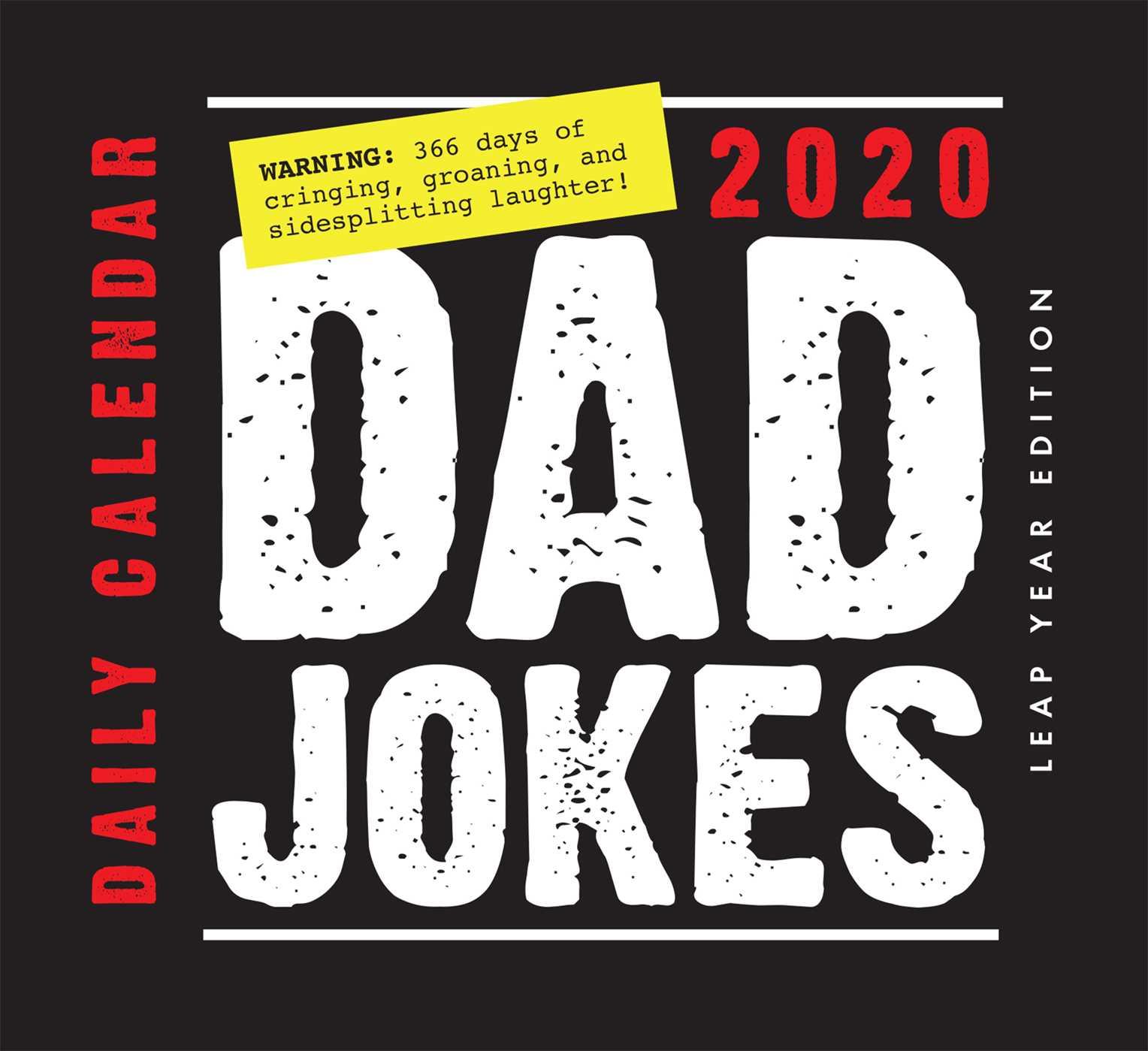 Dad Jokes Daily Calendar 2020