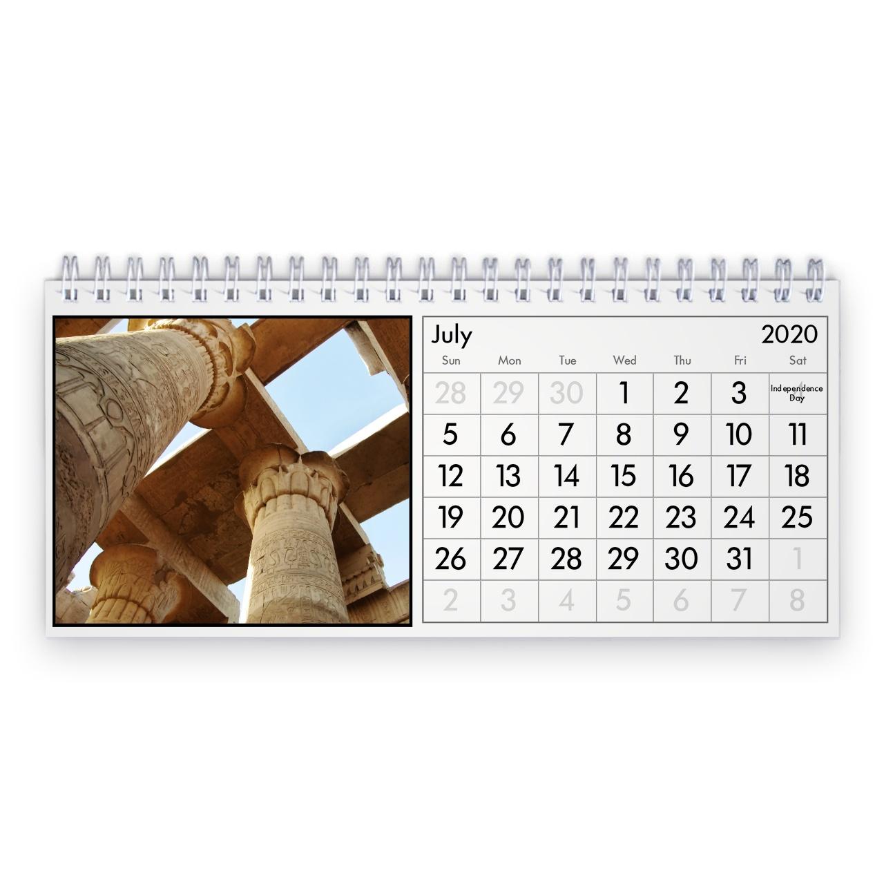 Egypt 2020 Desk Calendar