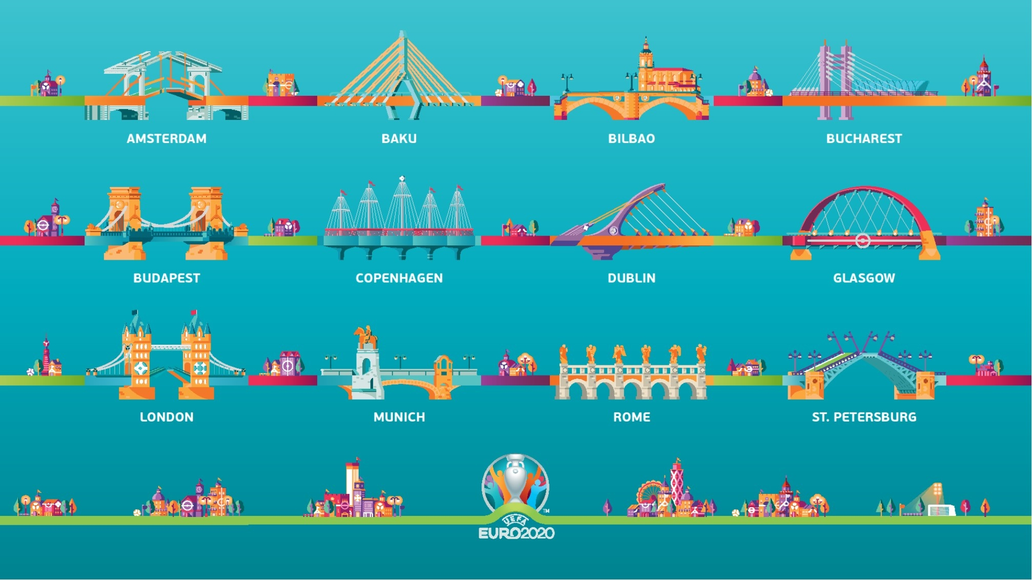 Euro 2020 Calendar