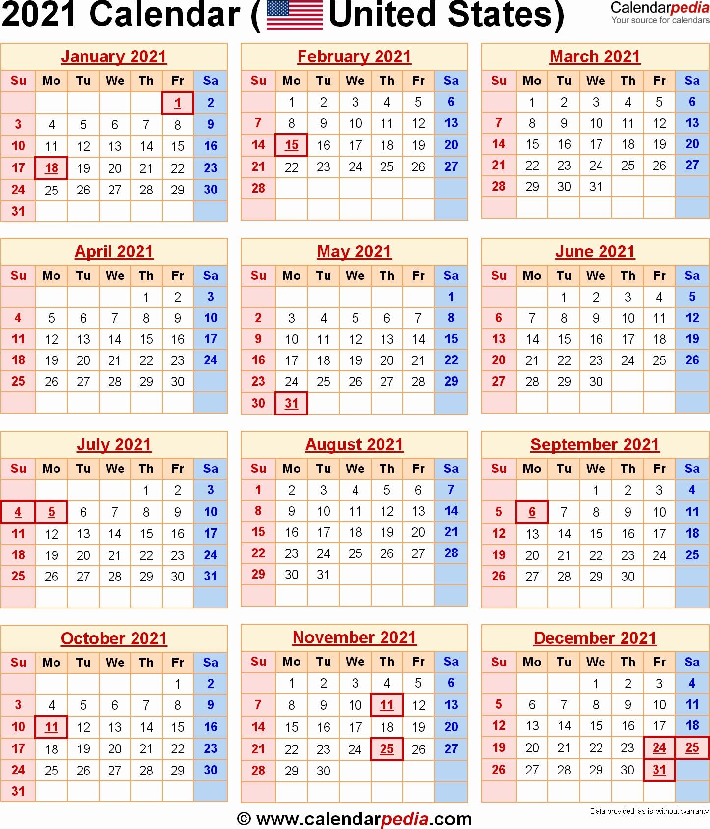 Exceptional 2020 Calendar Federal Holidays • Printable Blank