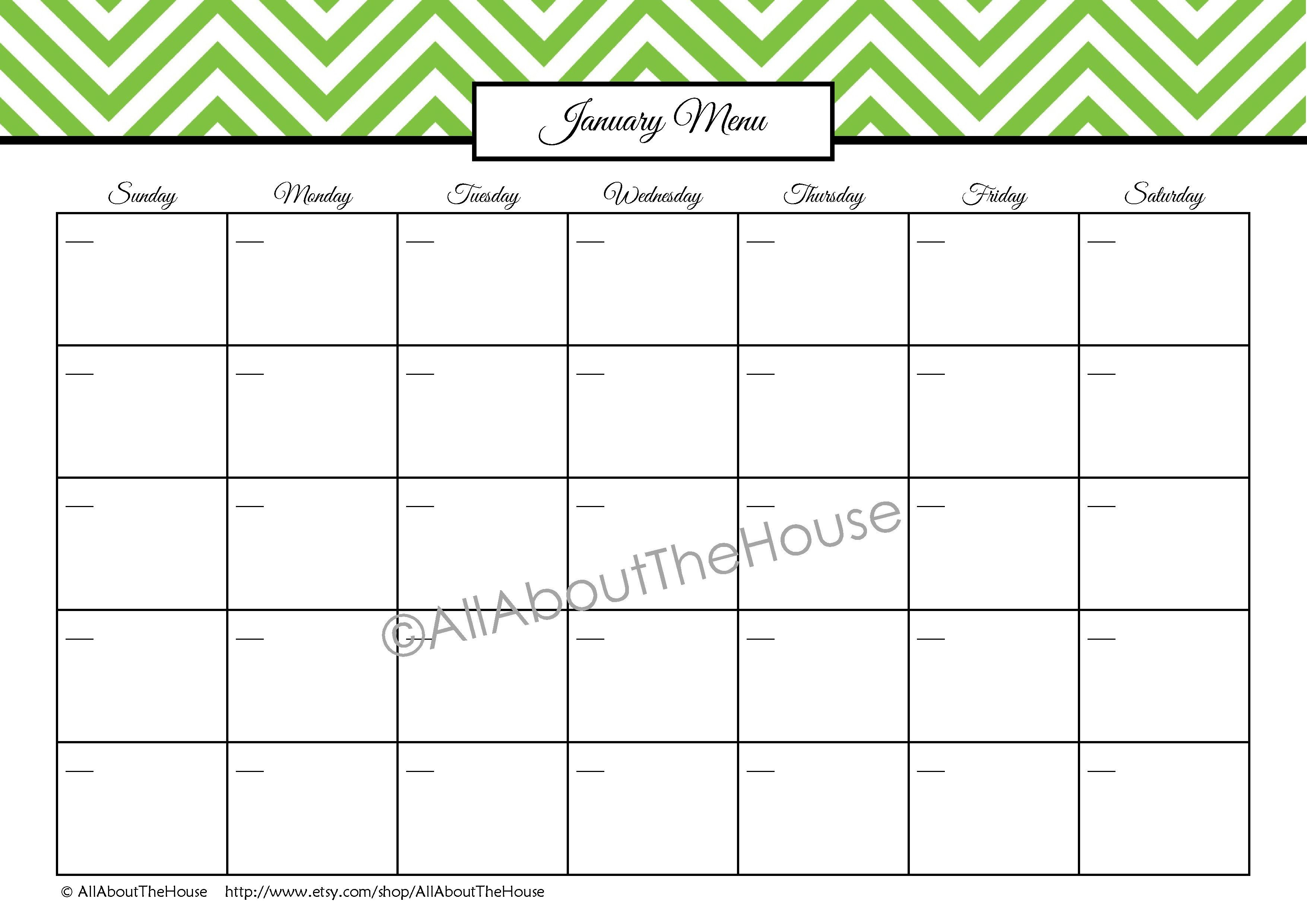 Fill In The Blank Calendar For Kindergarten Printed For Free