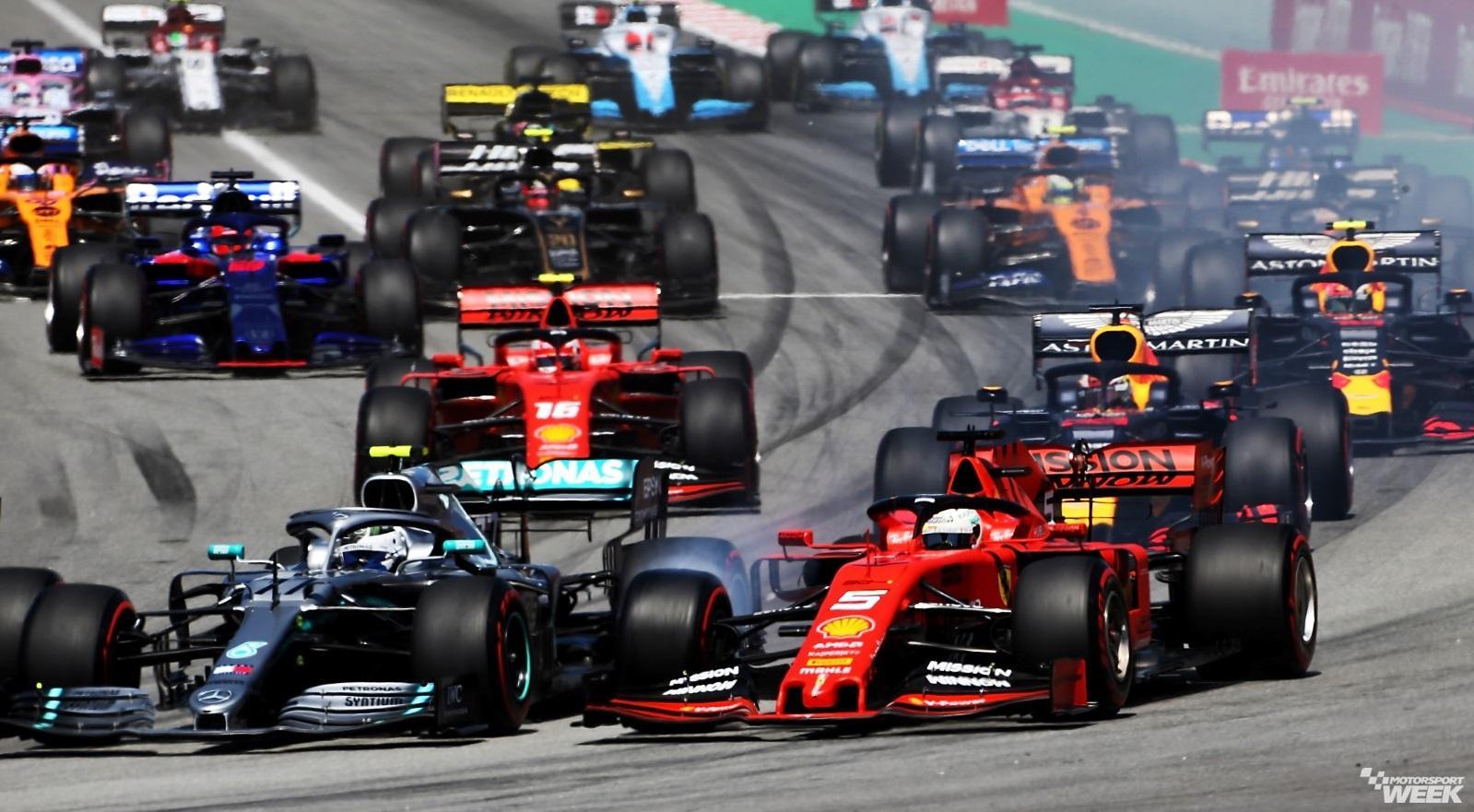 Formula 1 2020 Calendar