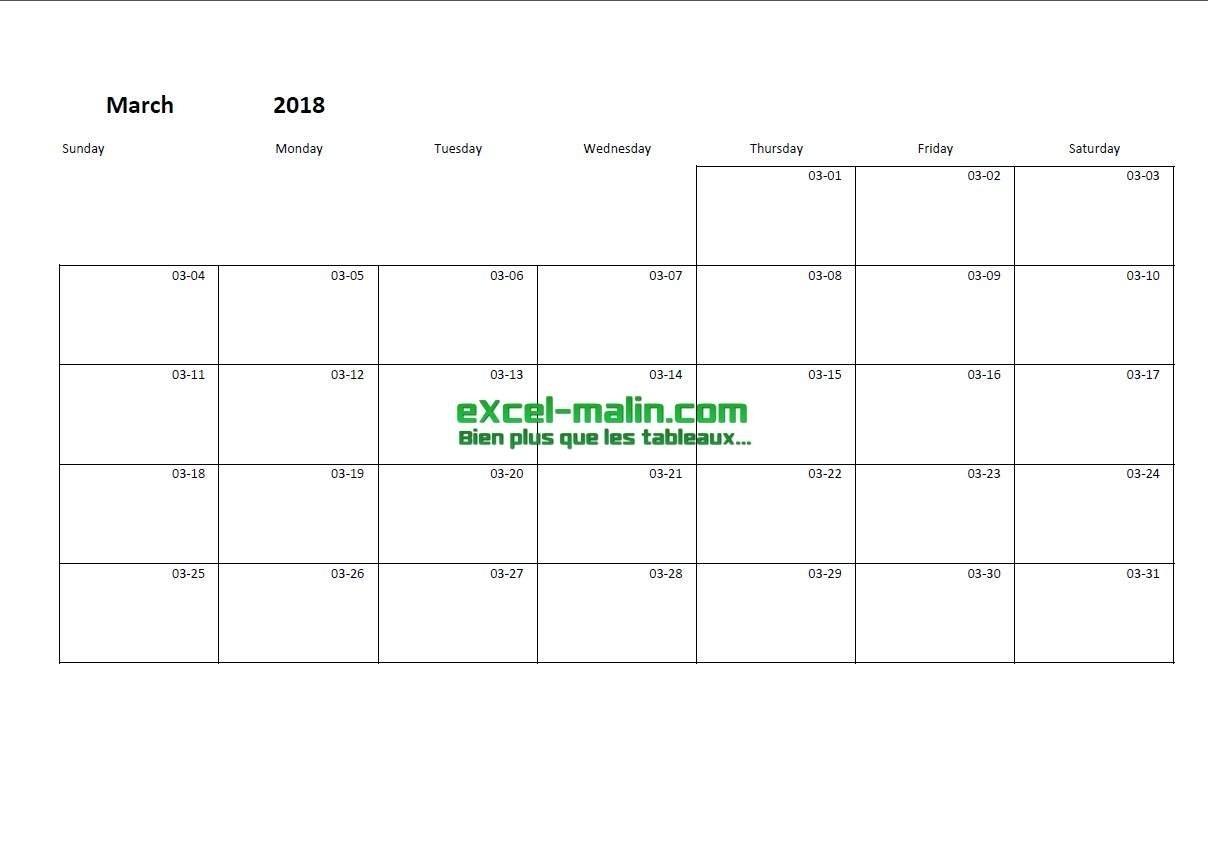 Free Blank Calendar Templates – Smartsheet Calendar Template No Year