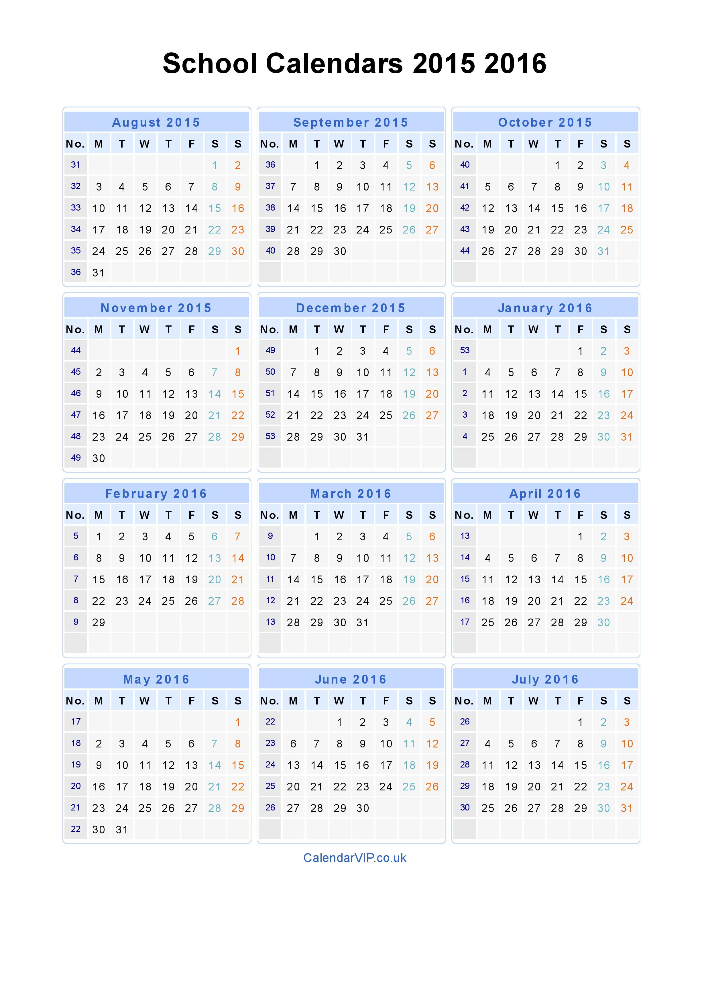 Free Calendar 2015 2019 - Agadi.ifreezer.co