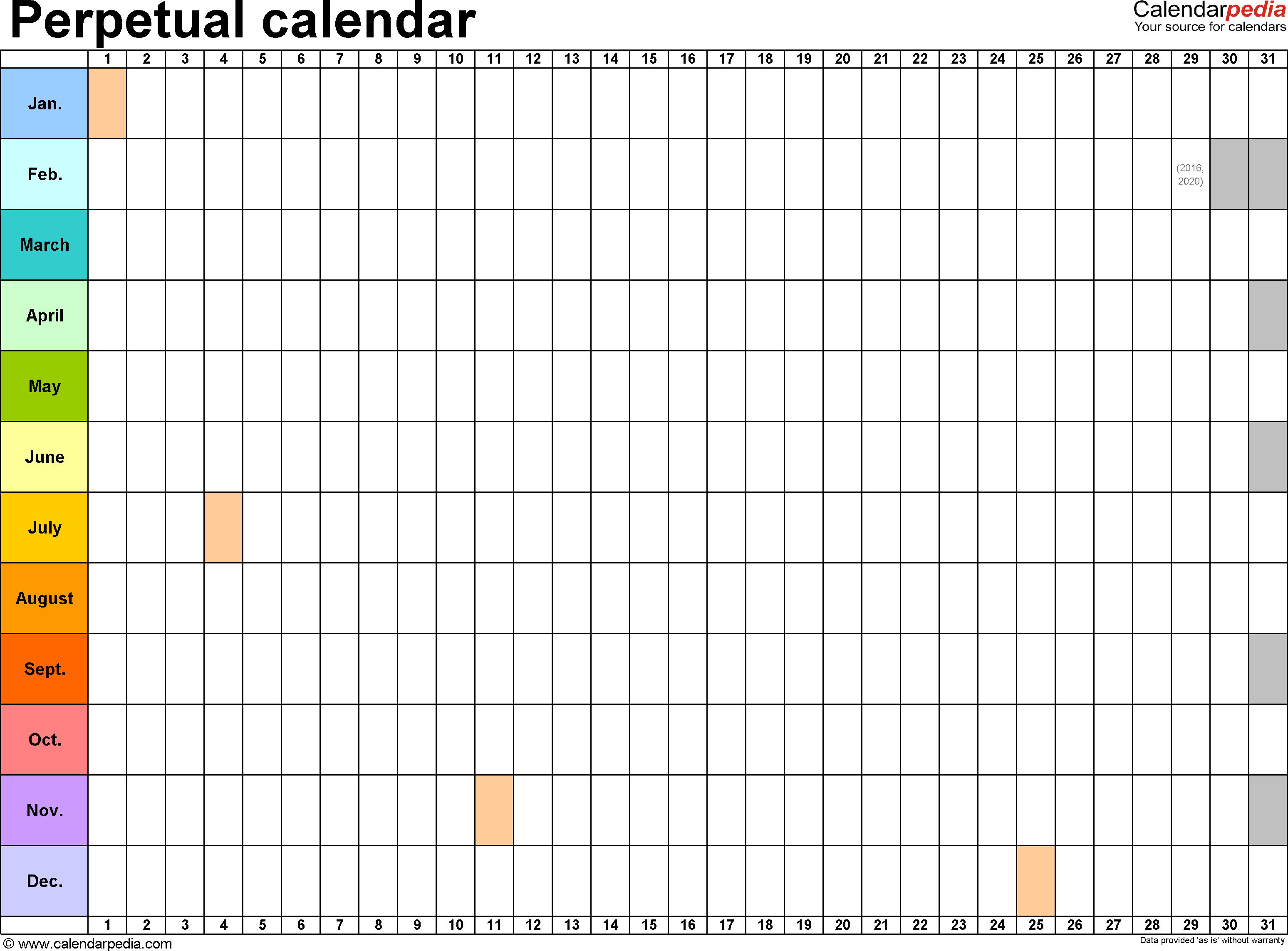 Free Calendar Template For Mac - Erha.yasamayolver