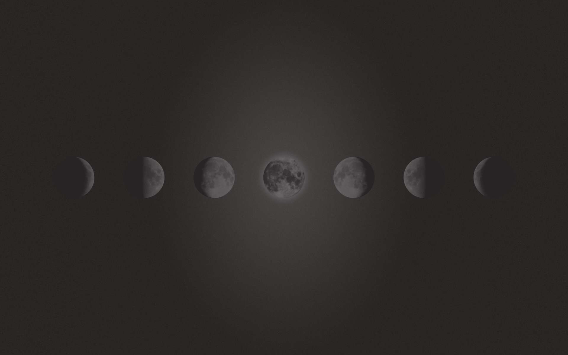 Freebie - Phases Of The Moon Wallpaper - Maddison Designs