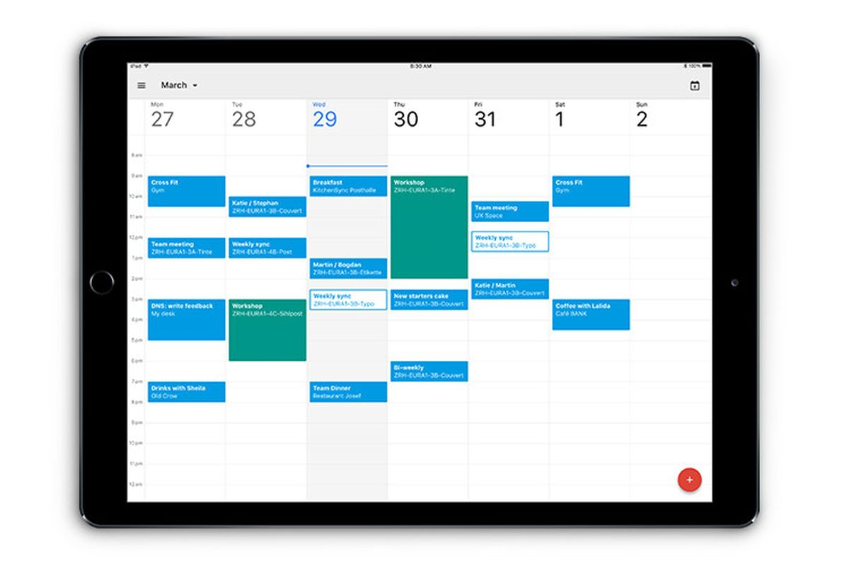 Google Calendar Finally Has A Proper Ipad App - The Verge