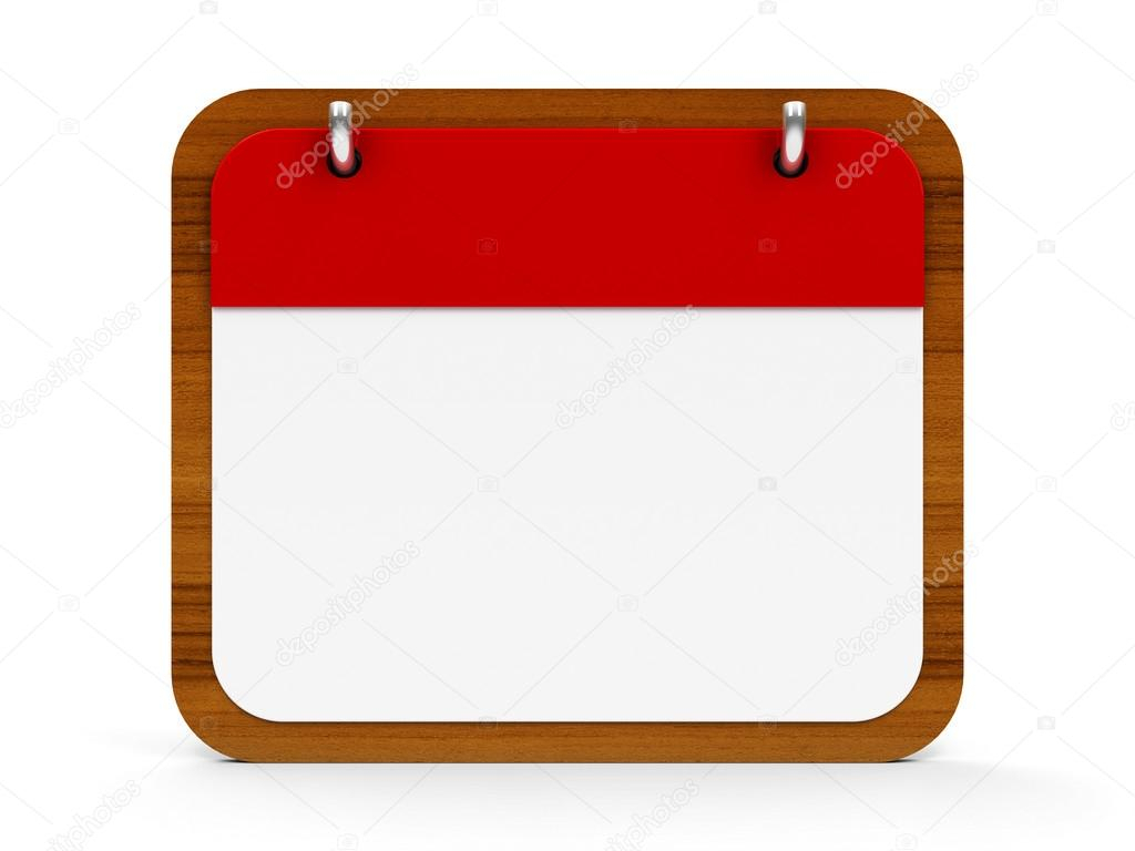 Icon Calendar Wooden — Stock Photo © Oakozhan #114408806