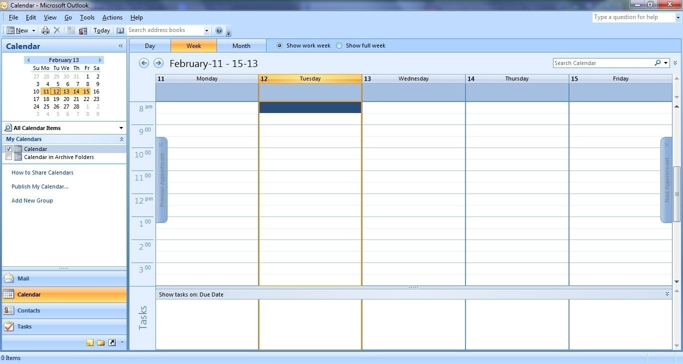 Incredible Calendar Blank In Outlook • Printable Blank Calendar Template