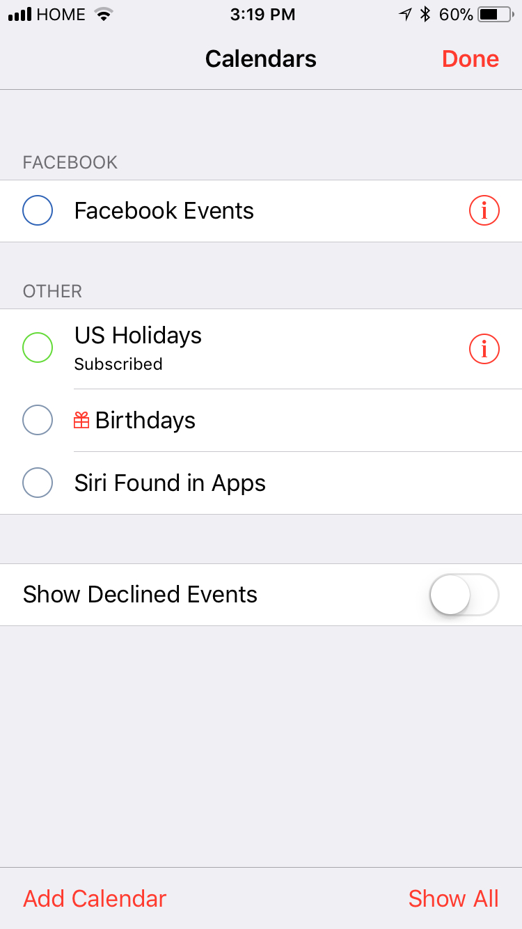 Iphone Calendar Blank Exchange