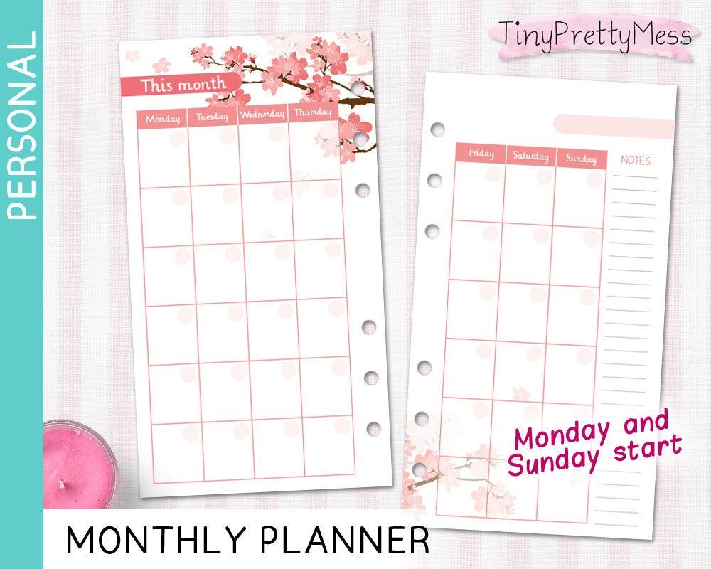 Kikki K Blank Calendar