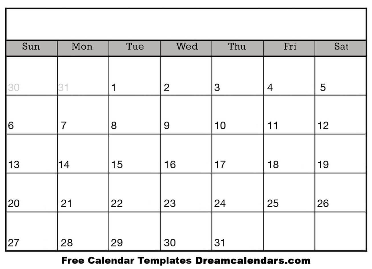 Ko-Fi - Blank Printable Calendar Templates - Ko-Fi ❤️ Where