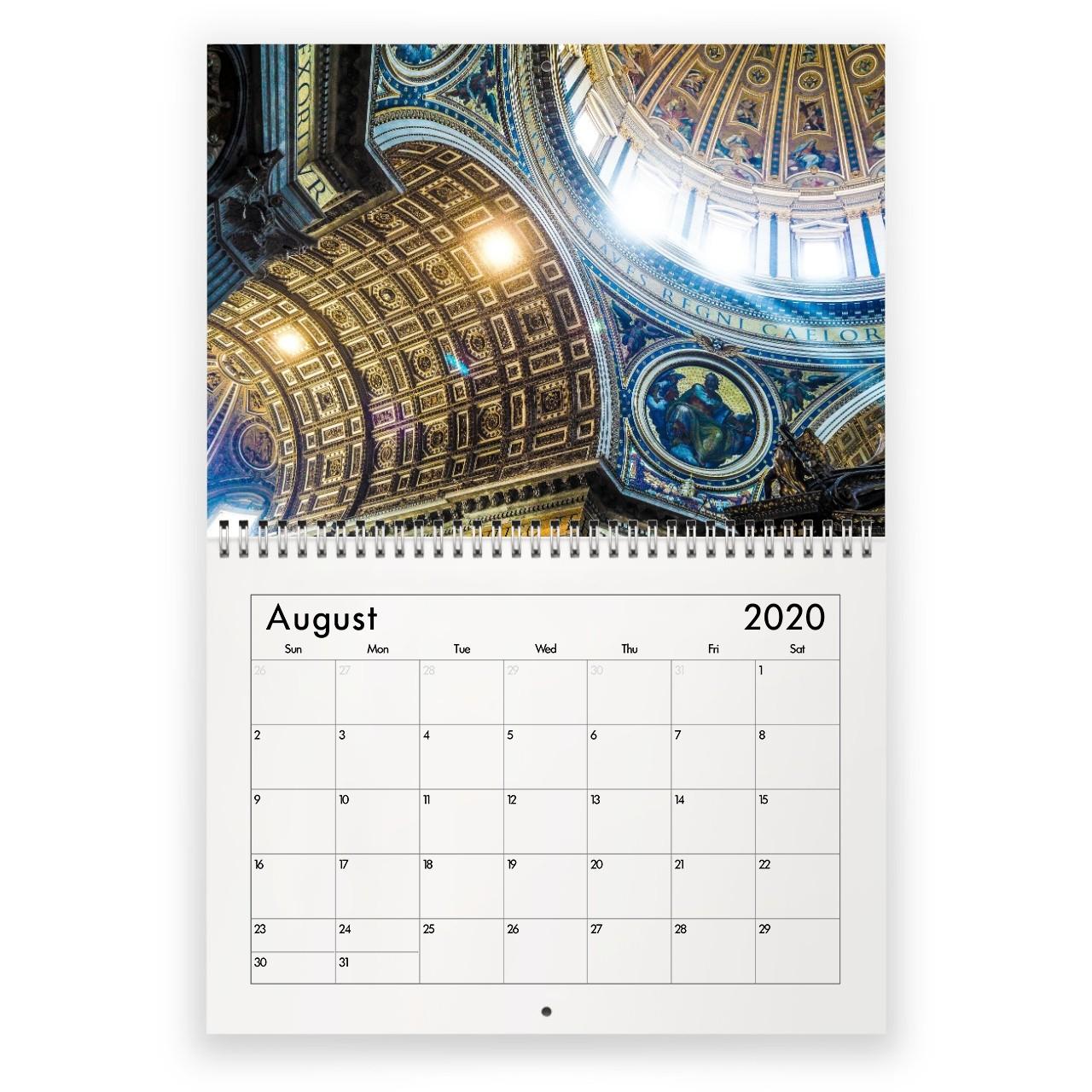 M2020 Calendar